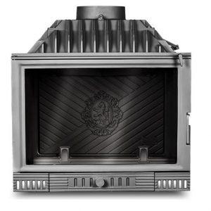 Wkład kominkowy STANDARD W2 14 kW z szybrem, doprowadzenie powietrza